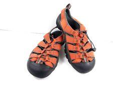 KEEN Women's Sandals Whisper Waterproof Closed-Toe Sport Orange Hiking Shoes 9.5