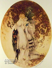 Secrets by Louis Icart (: Art Print of Vintage Art :)