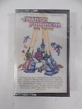 SEALED ORIGINAL 1986 TRANSFORMERS THE MOVIE OST SOUNDTRACK CASSETTE TAPE G1