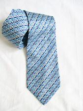 Cravate en Soie Bleu Pierre Cardin