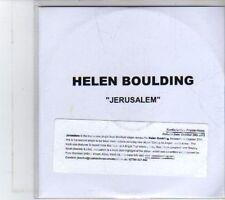 (DR880) Helen Boulding, Jerusalem With sticker  - 2012 DJ CD