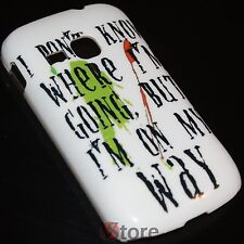 Cover Funda para Samsung Galaxy Mini 2 S6500 My Way Rígido