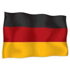 """GERMANY German Flag car bumper sticker decal 6"""" x 4"""""""