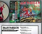 """IRON MAIDEN Run To The Hills CD2 JAPAN 4-track 5"""" CD TOCP-40156 w/OBI+Pic Sleeve"""