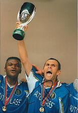 Gus POYET Signed Autograph 12x8 Photo AFTAL COA Chelsea Sunderland Manager