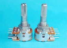 100KA T87 Volume Control Double A100K Stereo Rotary Potentiometer For ALPS AMP