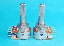 100KA T87 Volume Control Doppelt A100K Stereo Rotary Potentiometer für ALPS AMP
