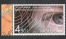 Moldova 2009 Trafficking/Slavery/People/Smuggling/Eye/Web/Welfare 1v (n37578)