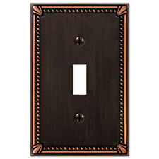 Imperial Bead Designer Switchplate Electrical Cover Bronze Toggle Outlet Rocker