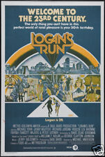Logan's run Michael York cult sci fi movie poster
