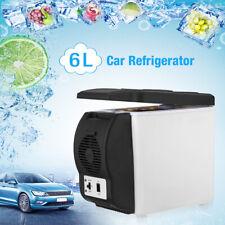 New listing 6L Car Portable Small Fridge Freezer Cooler Mini Refrigerator Camping Outdoor