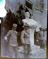 NEGATIVA FOTOGRAFICA 1940ca MILITARI REGIO ESERCITO IN ALBANIA --