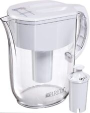 Brita Large 10 Cup Everyday Water Pitcher with Filter White