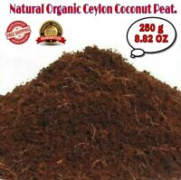 250g COCO COIR/PEAT Hidroponic Natural Organic Growing Media Ootting Soil Compos