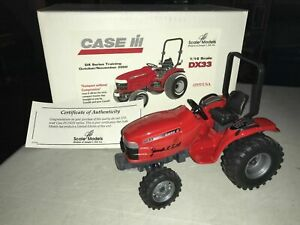 Scale Models CASE IH DX33 With COA Signed Joesph Ertl BNIB