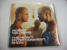 ROBBIE WILLIAMS - THE HEAVY ENTERTAINMENT SHOW - 2LP VINYL NEW SEALED 2016