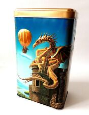 Golden dragon Smaug Fantasy Tea Maitre metal box best gift! New Limited Edition
