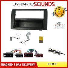 KIT di montaggio Radio Stereo Fascia Pannello Adattatore singolo DIN per FIAT IDEA 2003 >