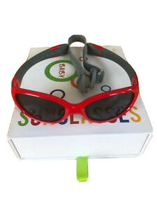 ActiveSol BABY Sonnenbrille Jungen rot UV 400 wie NEU! 0-2 Jahre