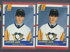 2x LOT 1990-91 Score #428 Jaromir Jagr RC Rookie Penguins