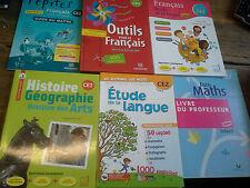 Lot de 15 manuels scolaire niveau CE2 Maths français histoire géographie ...