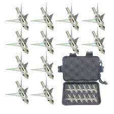 12pcs Ramcat Broadhead 100grain 3blade Arrowhead  US
