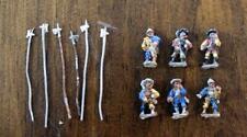 15mm 18mm Italian Wars Landsknecht Halberdiers x6 miniatures Venexia