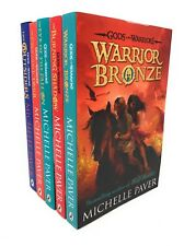 Gods And Warriors 5 Books Set Collection Michelle Paver, Warrior Bronze ...