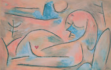 PAUL KLEE ORIGINAL LITHOGRAPH SIGNED IN THE PLATE WINTER 1938 PRINTED BY MOURLOT