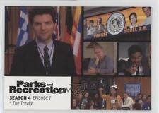 2013 Press Pass Parks and Recreation Seasons 1-4 #53 The Treaty Card 2a1