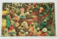 St Thomas Virgin Islands Clown Group during Carnival Parade Postcard F16