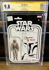 Jeremy Bulloch Signed Star Wars #7 Boba Fett Action Figure Variant CGC 9.8 SS NM