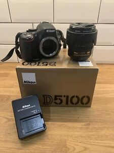 Nikon D D5100 16.2MP Digital SLR Camera - Black (Kit with VR 18-70 mm Lens)