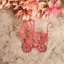 Baby Stroller Carriage Cutting Dies Stencil DIY Scrapbook Card Album EmbossingQM