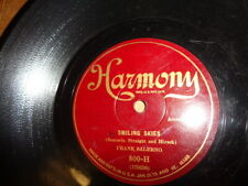 Later 20s HARMONY 78/Frank Salerno/Accordion Solos