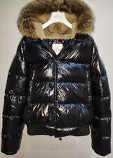 Moncler Bulgarie size 6 US 2XL men's Down jacket with Coyote fur code certilogo