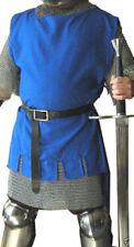 Medieval Tunic Blue Renaissance Viking Norseman Saxon Men Cosplay Top Costume