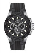 Invicta I-Force Chronograph Black Dial Black Silicone Mens Watch 16918