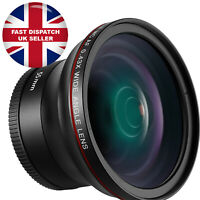 Neewer 55MM 0.43x Professional HD Wide Angle Lens (Macro Portion) for DSLR