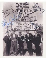 RAT PACK FRANK SINATRA SAMMY DAVIS REPRINT 8X10 SIGNED PICTURE PHOTO DEAN MARTIN