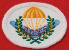 AUSTRALIAN DEFENCE FORCES RIGGER QUALIFICATION PATCH FOR THE MESS UNIFORM