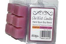 ChicWick 2Pack Pumpkin Cranberry Cider Wax Melts 6oz 12 Wax Cubes Wax Tarts