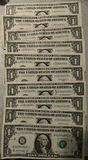 $1 * ONE DOLLAR * STAR NOTES  Total of 21 Notes of various years