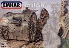 EMHAR 1/35 WWI Artillería Británica con pistola 18pdr # 3502