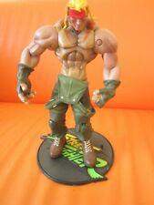 "Resaurus Capcom 1999 Street Fighter Player 3 Alex 7"" Action Figure  00006000 Rare in Uk"