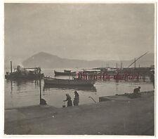 Grèce Patras Patra Voyage 1907 Vintage Tirage argentique 7x8cm