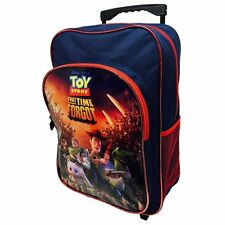 TOY STORY CABIN BAG DELUXE TROLLEY BACK PACK TRAVEL SUITCASE KIDS BUZZ WOODY
