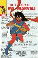 MS MARVEL #25 WYATT LENTICULAR HOMAGE VARIANT MARVEL LEGACY KAMALA KHAN