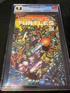 🐢TMNT #7 CGC 9.8 White Pages First Print Beautiful Case  First Color Story 🌈