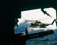 "Gunners Position on a HH-53 Helicopter 8""x 10"" Vietnam War Photo 207"